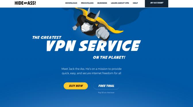 HideMyAss VPN Service Review 2018