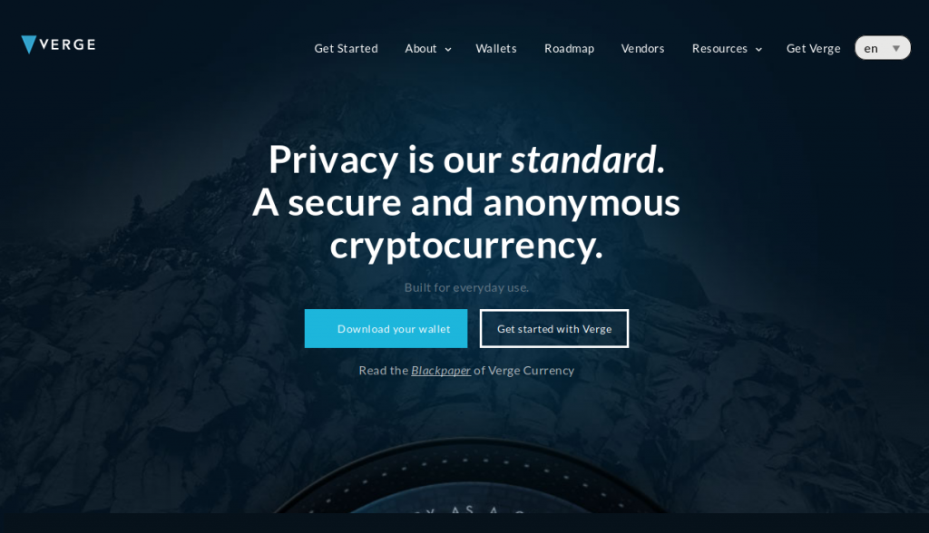 Verge website