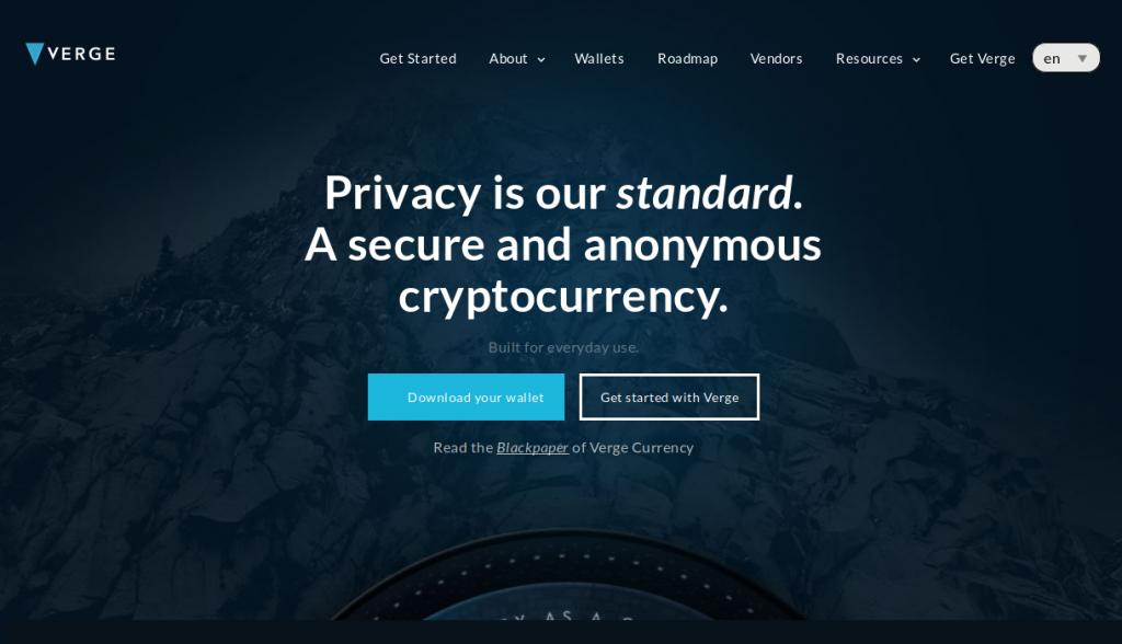 Verge website